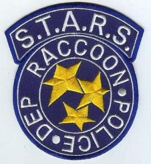 FANCY DRESS HALLOWEEN COSTUME PATCH Resident Evil STARS Raccoon City