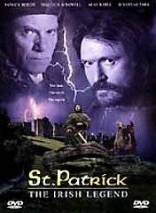 St. Patrick The Irish Legend DVD, 2000