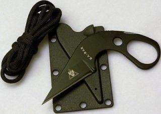 KA BAR TDI LDK Law Enforcement Military Survival Combat Boot Neck
