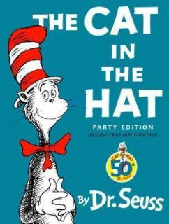 THE CAT IN THE HAT Large I Can Read Beginner Books DR SEUSS +You Can