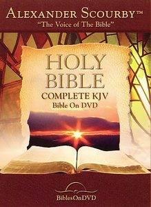 Holy Bible Complete King James Version DVD, 2007, 2 Disc Set