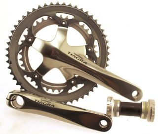 TIAGRA FC 4500 4500 175mm 52/39t w/BB Road Bike Crankset Crank NEW