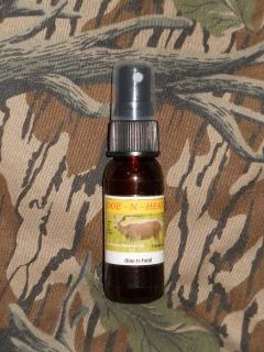 DOE  N  HEAT Buck Lure, 1oz. in a Pump Spray Bottle