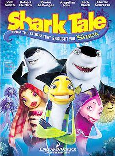 Shark Tale DVD, 2005, Full Frame