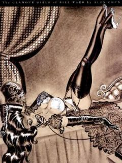 The Glamour Girls of Bill Ward by Bill W