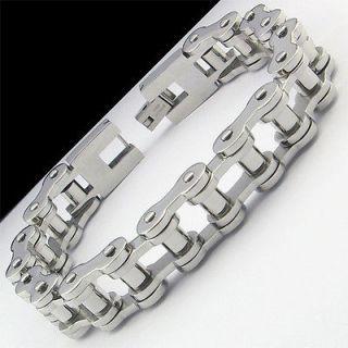 bike chain bracelet in Mens Jewelry