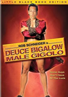 Deuce Bigalow Male Gigolo DVD, 2006, Little Black Book Edition
