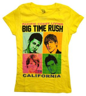 Big Time Rush Pacific Coast Living California Band TV Show Girls T