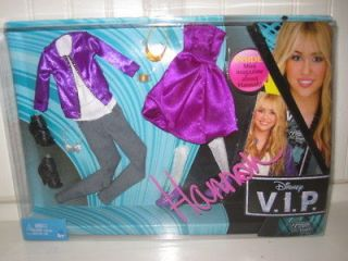 NEW VIP Hannah Montana Miley Cyrus Doll clothes LOT shoes Mattel mini