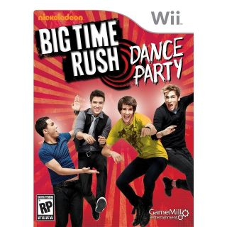BIG TIME RUSH DANCE PARTY (Wii, 2012) (6657)