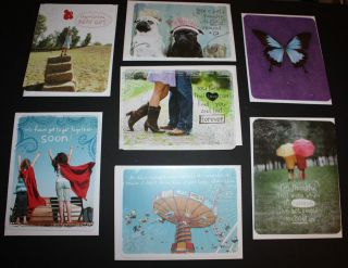 Taylor Swift American Greetings Lot 7 cards birthday friend NEW with