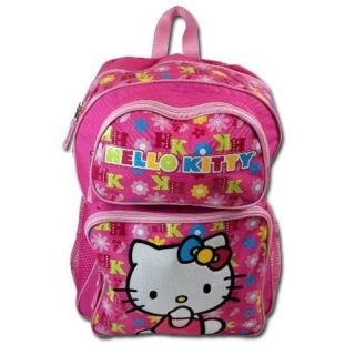 Hello Kitty Full Size Backpack 12 x 16 in.   School Supplies   Pink