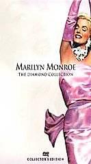 Marilyn Monroe The Diamond Collection Volume 1 VHS, 2001, 6 Tape Set