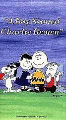 Boy Named Charlie Brown VHS, 1992
