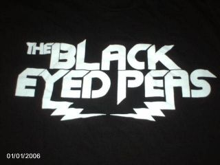 The Black Eyed Peas The END Black T Shirt size XL