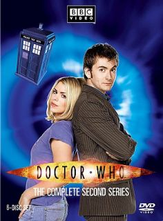 Doctor Who   The Complete Second Series DVD, 2007, 6 Disc Set