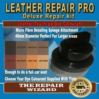50ML BROWN Leather Repair Pigment Dye Kit With Unique Applicator
