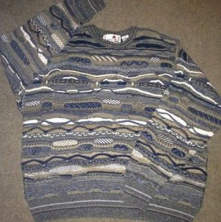 Crazy Textured XL Bill COSBY UGLY SWEATER 1980s 80s 1990s 90s
