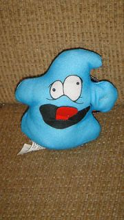 Silly Slammers Burger King #5 Boo Hoo Blue Ghost Stuffed Doll Plush