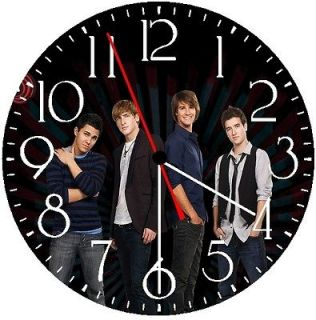 BIG TIME RUSH Wall Clock * GLOW IN THE DARK * New
