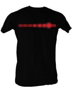 Knight Rider T Shirt Light up Kitt David Hasselhoff Soft Adult S XXL