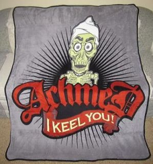 the Dead Terrorist I Keel You Plush Throw Blanket Jeff Dunham GIFT