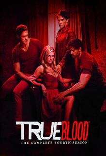 True Blood The Complete Fourth Season DVD, 2012, 5 Disc Set
