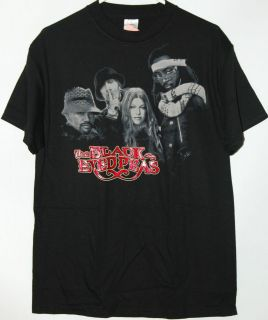 Black Eyed Peas T Shirt tee Fergie will.i.am Taboo apl.de.ap