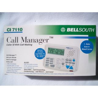 Bell South Caller ID Call manager CI 7110