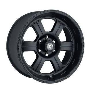 Pro Comp Xtreme Alloys Series 7089 Cast Blast Black Wheel 17x9 5x127