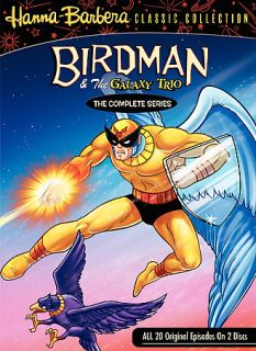 Birdman and the Galaxy Trio The Complete Series DVD, 2007, 2 Disc Set