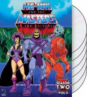 He Man and the Masters of the Universe Season 2 Volume 2 DVD (2006