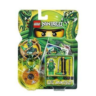 LEGO NINJAGO MASTERS OF SPINJITZU 9574 LLOYD ZX GREEN NINJA MINI
