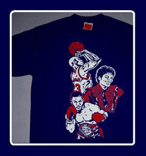 Cajmear Michael Jackson Jordan shirt vi olympic 6 Tyson Navy 2012 tee