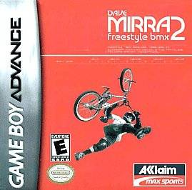 Dave Mirra Freestyle BMX 2 Nintendo Game Boy Advance, 2001
