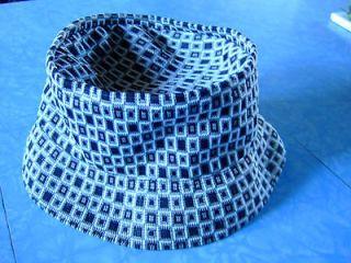 Kangol Bucket Black & White Hat size s/m unisex