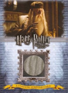 Harry Potter Half Blood Prince HBP   ALBUS DUMBLEDORE COSTUME CARD