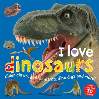Love Dinosaurs Sticker Book by Roger Priddy 2009, Paperback