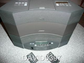 BOSE ACOUSTIC WAVE MUSIC SYSTEM II W/ 5 DISC CHANGER IN GRAPHITE GRAY