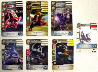 Rare PROMO Card Lot / 10 FROZTOK Boomer ZYLUS Metanoid & More UNPLAYED