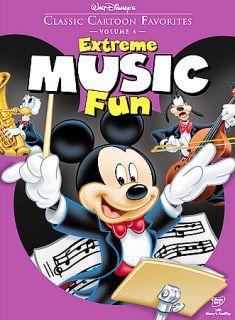Walt Disneys Classic Cartoon Favorites   Volume 6 Extreme Music Fun