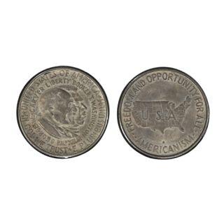 Half Dollar, 1954, Booker T. Washington and George Washington Carver