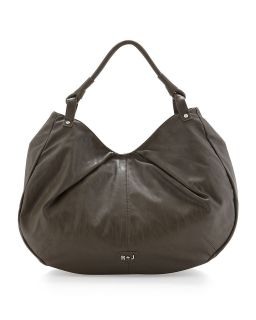 Handbags by Romeo & Juliet Couture Bree Soft Pleat Tote, Gray