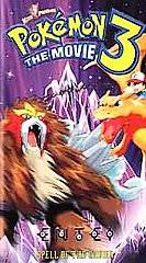 Pokémon the Movie 3 (VHS, 2001, Clamshell) (VHS, 2001)