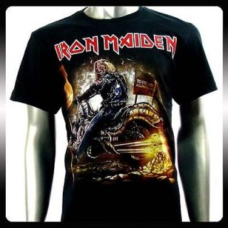 Iron Maiden Heavy Metal Rock Punk T shirt Sz XL Biker Rider