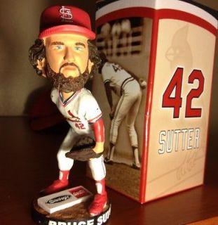 St. Louis Cardinals HOF Bruce Sutter 8/3 SGA BOBBLEHEAD NIB