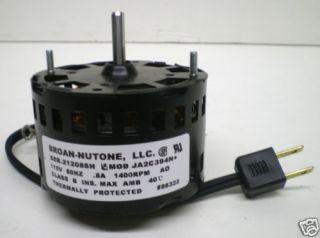 86322000 Genuine Nutone Vent Bathroom Fan Ventilator Motor