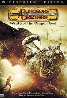 Dungeons Dragons Wrath of the Dragon God DVD, 2005