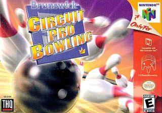 Brunswick Circuit Pro Bowling Nintendo 64, 1999