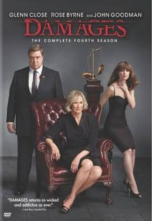 The Damages The Complete Fourth Season DVD, 2012, 3 Disc Set